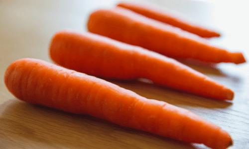 Recetas para la dieta del ayuno a base de zanahorias.